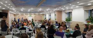 В церкви «Благодать» г.Минска прошла очередная встреча молодежи 25+