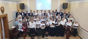 Сводный хор церкви «Гефсимания» послужил в Бресте и Стайках