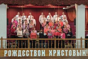 В церкви  «Благодать» г.Минска прошло предновогоднее благодарственное служение