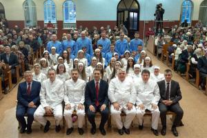 Водное крещение прошло в церкви «Благодать» г.Минска