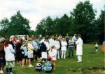 1996г Водное крещение на берегу реки Арестантка - д Долгое, Солигорский р-н